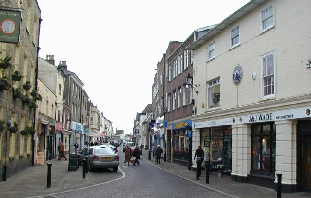 Ely High Street At Highst High Street Shops And High St