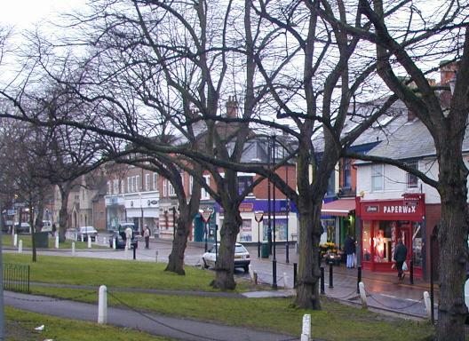 Harpenden High Street At Highst High Street Shops And High
