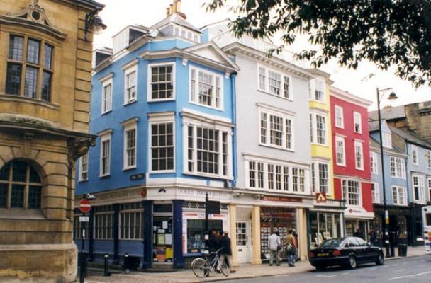 Oxford High Street shops - See text below