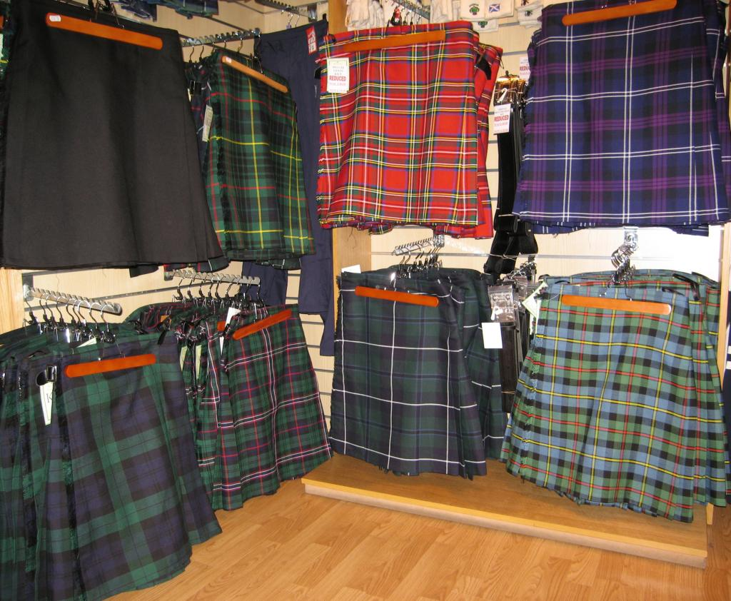 The Scottish Shop @ Pitlochry High St - Scottish clothing and gifts